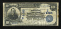 National Bank Notes:Maryland, Baltimore, MD - $10 1902 Date Back Fr. 619 The NB of Commerce Ch. #(E)4285. ...