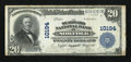 National Bank Notes:Virginia, Norfolk, VA - $20 1902 Plain Back Fr. 654 The Seaboard NB Ch. #10194. ...