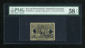 Fractional Currency:Second Issue, Milton 2E25F.3e Second Issue 25¢ Experimental PMG Choice About Unc 58 EPQ. ...