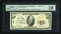 National Bank Notes:West Virginia, Martinsburg, WV - $10 1929 Ty. 1 The Citizens NB Ch. # 4811. ...