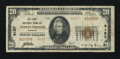 National Bank Notes:Missouri, Independence, MO - $20 1929 Ty. 2 The First NB Ch. # 4157. ...