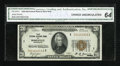 Small Size:Federal Reserve Bank Notes, Fr. 1870-I $20 1929 Federal Reserve Bank Note. CGA Choice Uncirculated 64.. ...