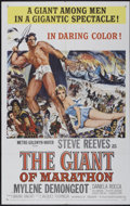 "Movie Posters:Adventure, The Giant of Marathon (MGM, 1960). One Sheet (27"" X 41"").Adventure...."