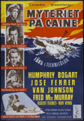 "Movie Posters:War, The Caine Mutiny (Columbia, 1954). Swedish One Sheet (27"" X 39"").War...."