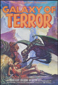 "Movie Posters:Science Fiction, Galaxy of Terror (New World, 1981). One Sheet (26.5"" X 39"").Science Fiction...."