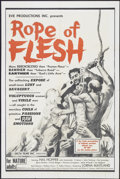 """Movie Posters:Drama, Mudhoney (Eve Productions, 1965). One Sheet (28"""" X 42""""). Also known as Rope of Flesh. Drama...."""
