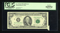 Error Notes:Attached Tabs, Fr. 2173-D $100 1990 Federal Reserve Note. PCGS Gem New 66PPQ.. ...