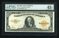 Large Size:Gold Certificates, Fr. 1173 $10 1922 Gold Certificate PMG Choice Extremely Fine 45 EPQ....