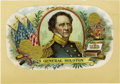"Miscellaneous:Ephemera, [Sam Houston] Full Color Cigar Box Label from ""General Houston""""Perfectos"", ..."