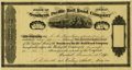 Transportation:Railroad, Southern Pacific Rail Road Company Stock Certificate 1871....