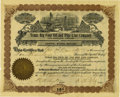 Miscellaneous:Ephemera, Texas Big Four Oil and Pipe Line Company Stock Certificate 1901....