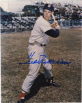 "Autographs:Photos, Ted Williams Single Signed Photograph. Classic 8x10"" image of theSplendid Splinter, signed in perfect sharpie. LOA from ..."