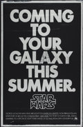 "Movie Posters:Science Fiction, Star Wars (20th Century Fox, 1977). One Sheet (27"" X 41"") MylarAdvance. Science Fiction...."