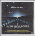 "Movie Posters:Science Fiction, Close Encounters of the Third Kind (Columbia, 1977). InternationalSix Sheet (81"" X 81""). Science Fiction...."