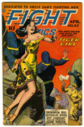Golden Age (1938-1955):War, Fight Comics #37 (Fiction House, 1945) Condition: FN/VF....