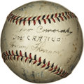 Autographs:Baseballs, 1931 Pittsburgh Pirates Team Signed Baseball . Twenty-six membersof the 1931 Pittsburgh Pirates added their signatures to ...