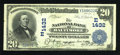 National Bank Notes:Maryland, Baltimore, MD - $20 1902 Date Back Fr. 642 The NB of Baltimore Ch.# (E)1432. ...