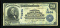National Bank Notes:Pennsylvania, Pottstown, PA - $20 1902 Date Back Fr. 643 The National Iron BankCh. # (E)3494. ...