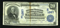 National Bank Notes:Maryland, Frederick, MD - $20 1902 Date Back Fr. 642 The Farmers &Mechanics NB Ch. # (E)1267. ...