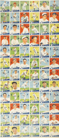 Baseball Cards:Sets, 1934 Canadian Goudey World Wide Gum Uncut Sheet of 72. Discouraged by taunts that they were behind the times, the Canadian W...