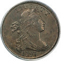 Large Cents, 1797 1C Reverse of 1797, Stems, S-135, B-5, R.3, MS64 BrownPCGS....