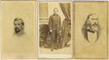 Photography:CDVs, Three Confederate General Officer Cartes de Visite,... (Total: 3 Items)