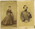 Photography:CDVs, Two Cartes de Visite Pertaining to Confederate Col. Charles S. Mitchell, 8th Missouri Infantry,... (Total: 2 Items)