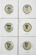 Baseball Cards:Sets, 1938 Our National Game Tabs (29/30 missing Gehrig). Offered is a near set of 29/30 1938 Our National Game Tabs (missing Lou...