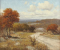 Texas:Early Texas Art - Impressionists, PORFIRIO SALINAS (American, 1910-1973). Autumn Landscape.Oil on canvas. 20 x 24 inches (50.8 x 61.0 cm). Signed lower l...