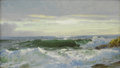 Paintings, WILLIAM TROST RICHARDS (American, 1833-1905). Crashing Surf. Oil on board. 9 x 15 inches (22.9 x 38.1 cm). Signed lower ...
