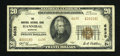 National Bank Notes:Missouri, Hannibal, MO - $20 1929 Ty. 2 The Hannibal NB Ch. # 6635. ...