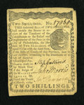 Colonial Notes:Pennsylvania, Pennsylvania March 10, 1769 2s Very Fine....