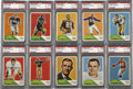 Football Cards:Sets, 1960 Fleer Football Complete Set (132). Offered is a 1960 Fleer Football complete set in overall mid to high grade. This se...