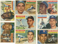 Baseball Cards:Lots, 1956 Topps Baseball Collection (176). Offered is a collection of176 cards from the 1956 Topps issue including w/#'s 1 Harr...