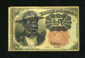 Fractional Currency:Fifth Issue, Politically Incorrect African-American Satirical Fr. 1265 10c Fifth Issue....