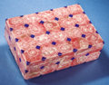 Lapidary Art:Carvings, RHODOCHROSITE & LAPIS BOX - A CONTRAST IN COLORS. ...