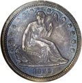Proof Seated Quarters, 1839 25C No Drapery PR65 NGC....