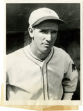"Baseball Collectibles:Photos, 1928 Travis Jackson News Service Photograph, Type 1. Glorious original 6x8"" portrait featuring Hall of Fame Giants man Trav..."
