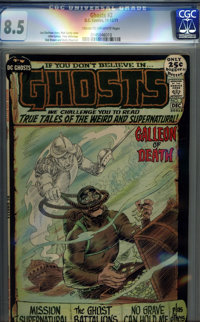 Ghosts #2 (DC, 1971) CGC VF+ 8.5 Cream to off-white pages