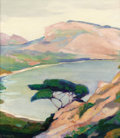 Fine Art - Painting, American:Modern  (1900 1949)  , JEAN MANNHEIM (German/American, 1862-1945). Carmel Coast.Oil on canvas. 21 x 19 inches (53.3 x 48.3 cm). Signed lower l...