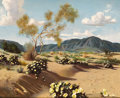 Fine Art - Painting, American:Contemporary   (1950 to present)  , RALPH BROWNELL MCGREW (American, 1916-1994). Spring on the HighDesert. Oil on panel. 20 x 23-1/2 inches (50.8 x 59.7 cm...