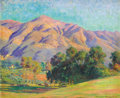 Fine Art - Painting, American:Modern  (1900 1949)  , ARTHUR MERTON HAZARD (American, 1872-1930). CaliforniaLandscape, 1923. Oil on canvas. 25-1/4 x 30-1/4 inches (64.1 x76...