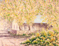 Fine Art - Painting, American:Contemporary   (1950 to present)  , KIM DOUGLAS WIGGINS (American, b. 1960). Annie's House -Autumn, 1986. Oil on canvas. 16 x 20 inches (40.6 x 50.8 cm).S...