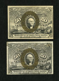 Fractional Currency:Second Issue, Fr. 1322 Pair 50c Second Issue Choice About New.... (Total: 2 notes)