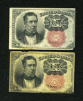 Fractional Currency:Fifth Issue, Fr. 1265 and Fr. 1266 10c Fifth Issue Pair.... (Total: 2 notes)