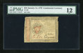 Colonial Notes:Continental Congress Issues, Continental Currency January 14, 1779 $55 PMG Fine 12....