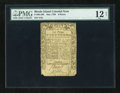 Colonial Notes:Rhode Island, Rhode Island May 1786 6d PMG Net Fine 12....