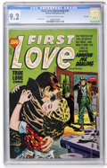 Golden Age (1938-1955):Romance, First Love Illustrated #42 File Copy (Harvey, 1954) CGC NM- 9.2Cream to off-white pages....