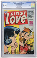 Golden Age (1938-1955):Romance, First Love Illustrated #31 File Copy (Harvey, 1953) CGC NM 9.4Cream to off-white pages....