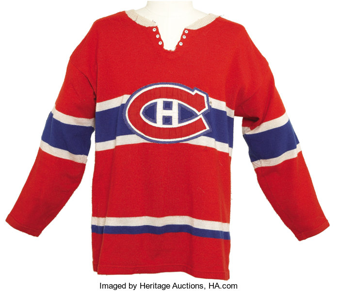 best sneakers 33898 48fb5 1967-68 Jacques Laperriere Game Worn Jersey. Few can argue ...
